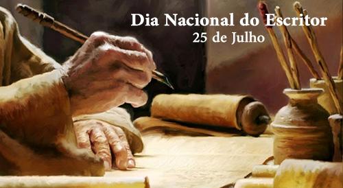 25-07 Dia Nacional do Escritor